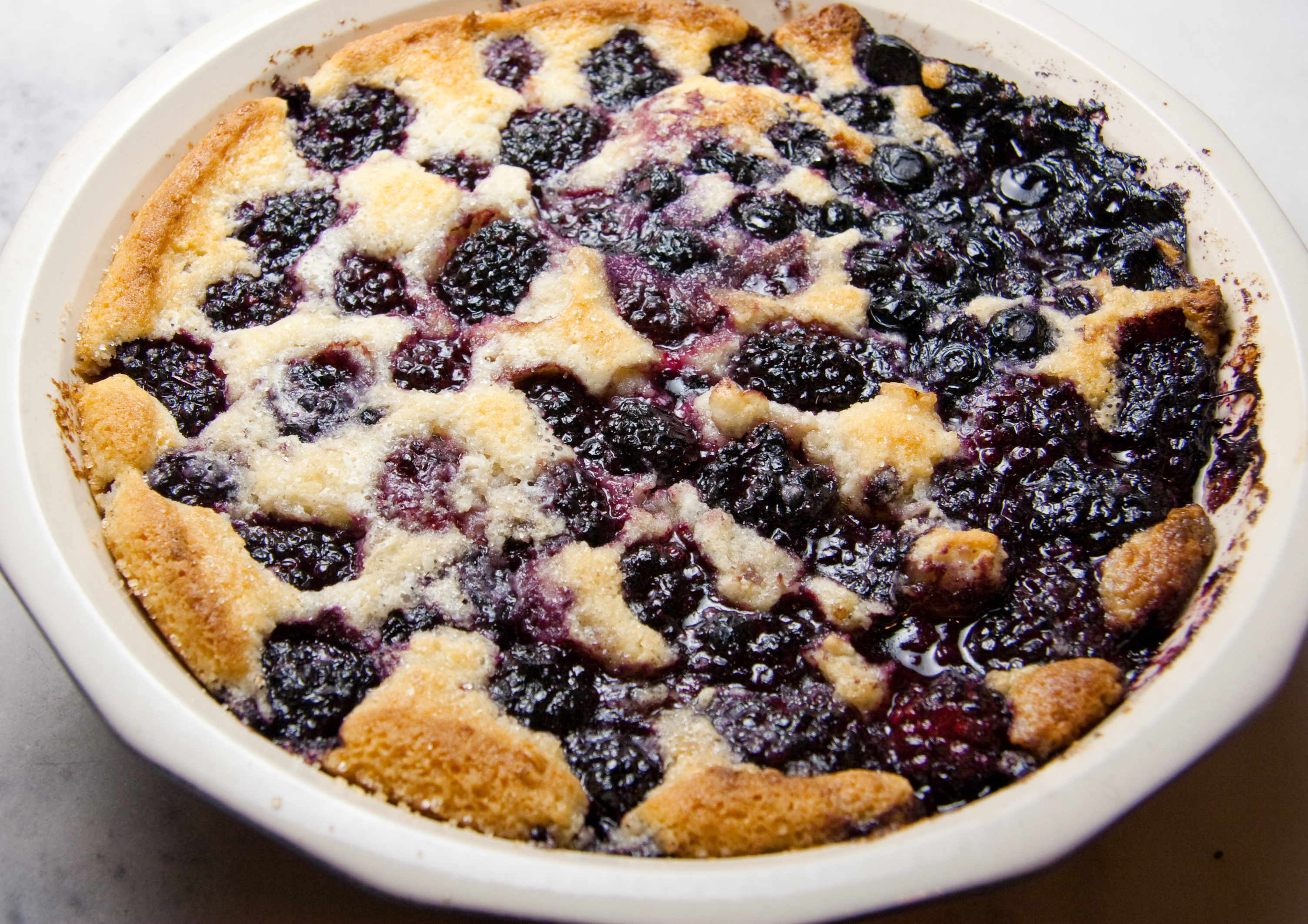 Fresh from the oven Berry Cobbler