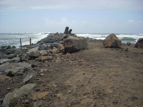 The north jetty at Barview Jetty Park