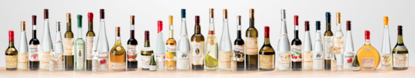 Clear Creek's line of products. Photo courtesy of Clear Creek Distillery