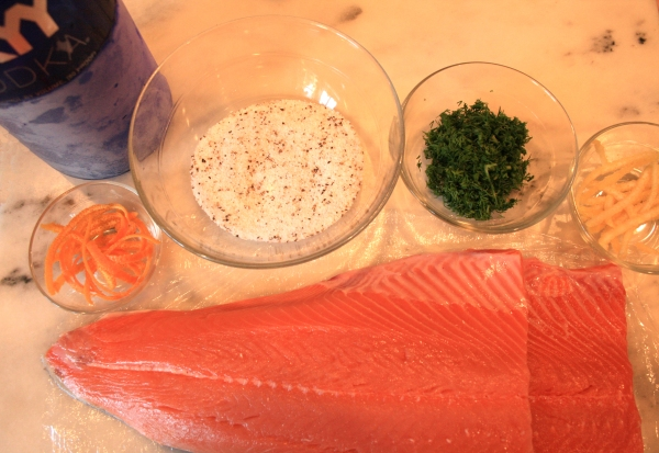 Making gravlax is not that difficult.