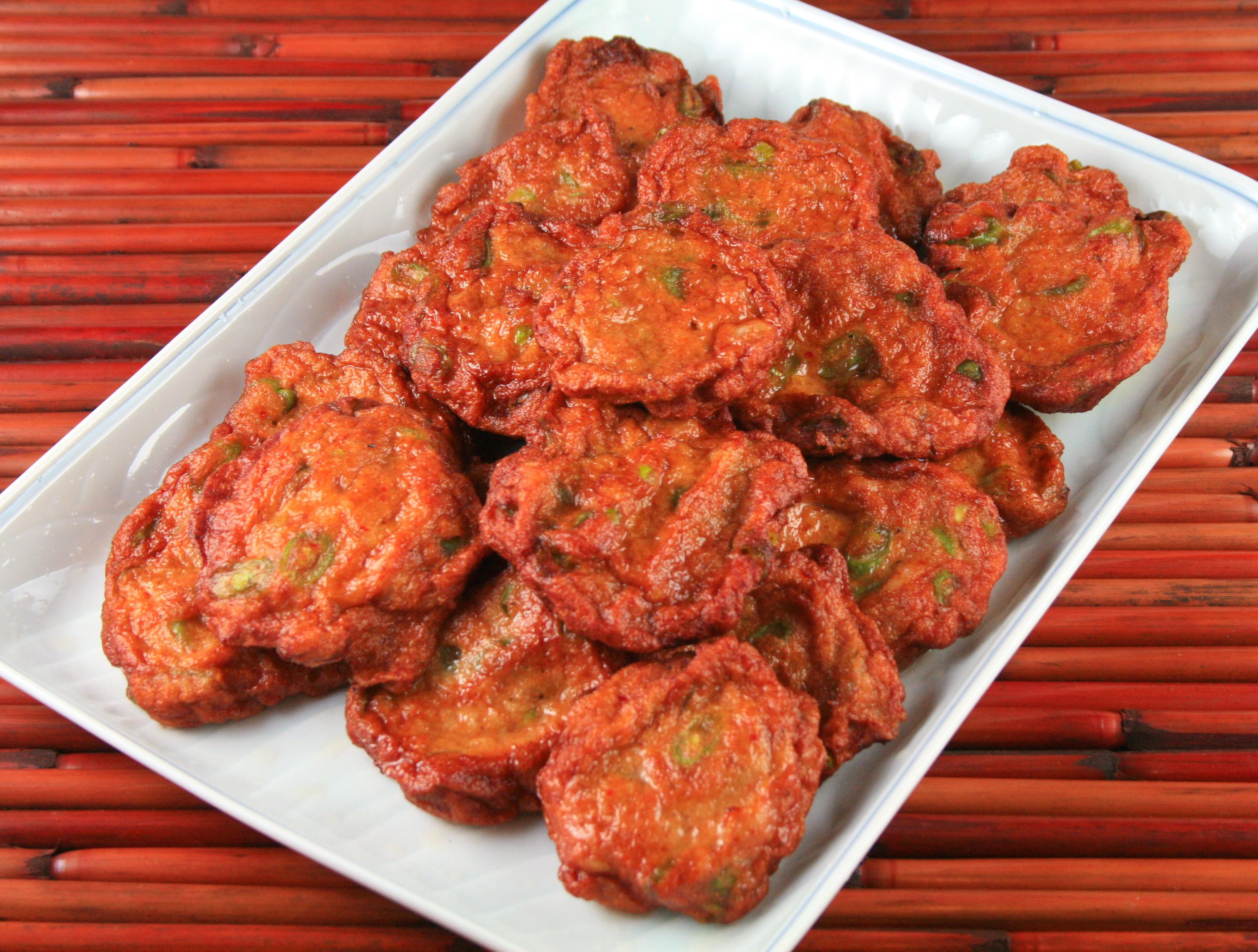 Todmun Tod Mun Thai Fish Cakes